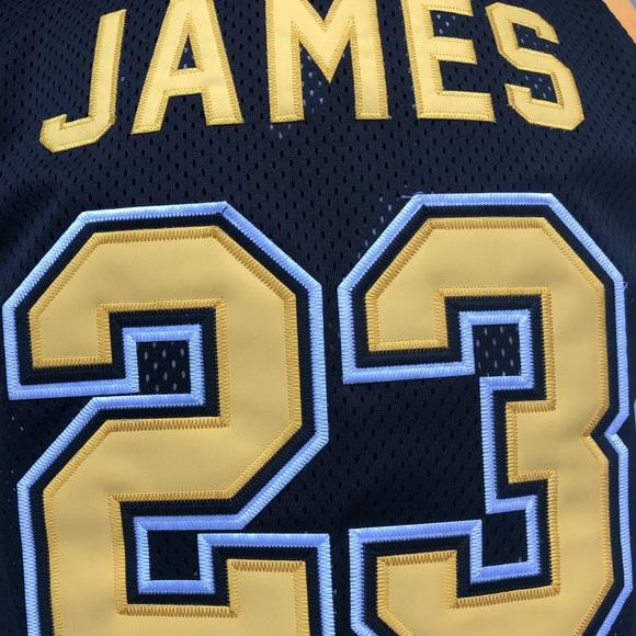 buy online c40e2 491ff Headgear Classics LeBron James Irish Jersey NWT L NWT